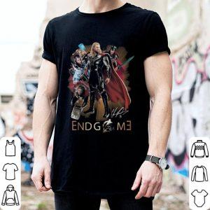 Marvel Avengers Endgame Thor signature shirt