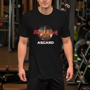 Marvel Avengers hard rock cafe Asgard shirt