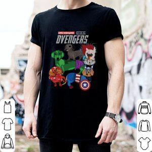Marvel Dachshund dog Dvengers Avengers Endgame shirt