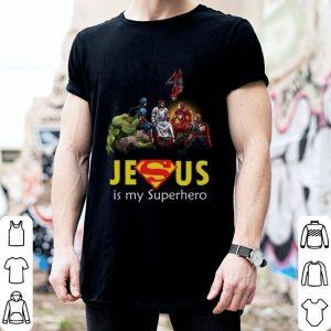 Marvel Heroes Jesus is my Superhero shirt