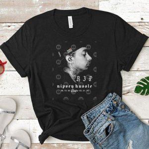 Rip Nipsey Hussle TMC Crenshaw Marathon 1985-2019 shirt