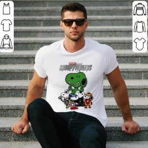 Snoopy Snoopyvengers Marvel Avengers Endgame shirt