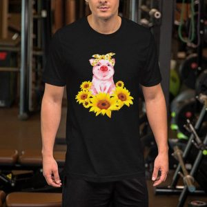 Sunflower Pink Pig