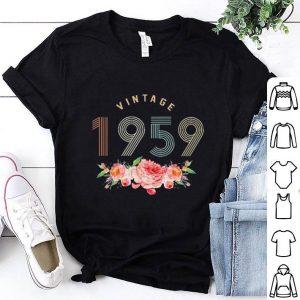 Vintage 1959 flowers shirt