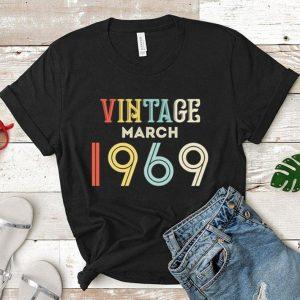 Vintage march 1969 shirt