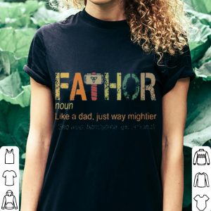 arvel fa-thor like dad just way mightier hero shirt 2