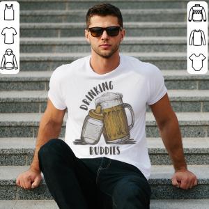 Drinking buddies dad and baby matching shirt 1