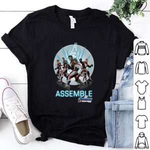 Avengers Endgame Superheroes new costume Marvel Assemble shirt