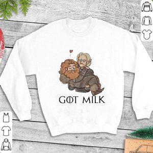 Brienne and Tormund got milk GOT Game of Thrones shirt
