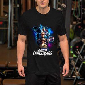 Captain America thank you Chris Evans shirt
