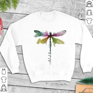 Dragonfly color Let it be shirt