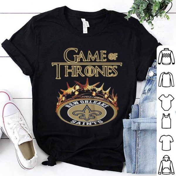 Game Of Thrones Crown New Orleans Saints shirt