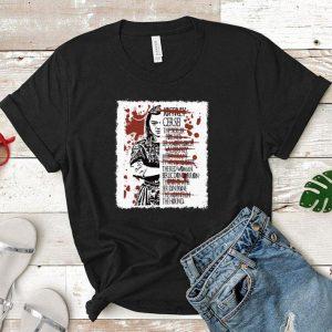 Game of Thrones Arya Stark Kill List shirt