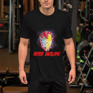 Hockey Iron man never Endgame shirt
