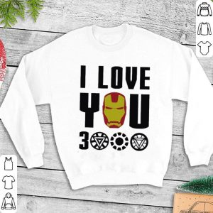 I Love You 3000 Iron Man Marvel Avengers Endgame shirt