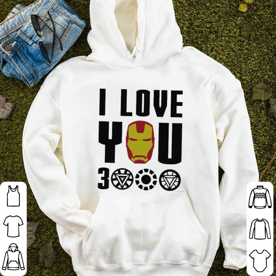 32db0dfac I Love You 3000 Iron Man Marvel Avengers Endgame shirt, hoodie ...