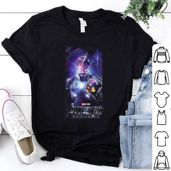 Marvel Avengers Endgame Iron Man Infinity Gauntlet shirt