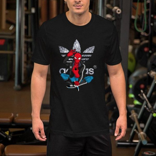 Marvel Spiderman Adidas shirt