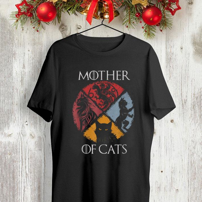 Mother Of Cat Vintage Game Of Thrones shirt 4 - Mother Of Cat Vintage Game Of Thrones shirt