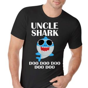 Uncle Shark Doo Doo Doo Fathers Day shirt