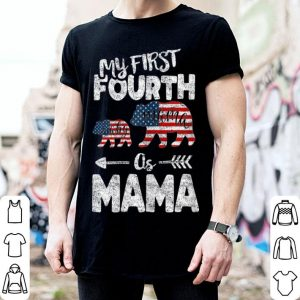 4th Of July For Mama bear Mom Pregnancy Announcement shirt