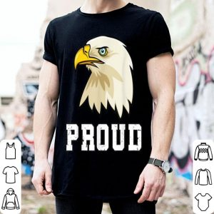 4th Of July Love Proud USA Bald Eagle American Flag shirt