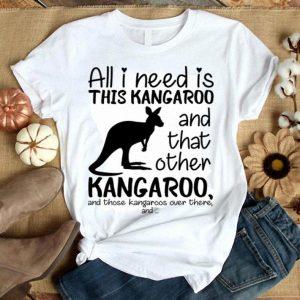 All i need is this kangaroo and that other kangaroo shirt