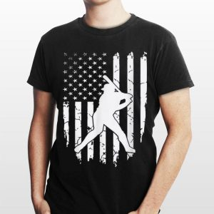 American Flag Baseball 4th July Patriotic Team shirt