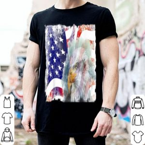 American Flag Eagle 4th Of July shirt