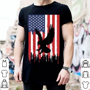 American Flag Flying Eagle 4th of July Day Of Independence shirt