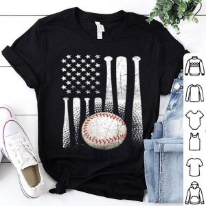 American Flag Vintage Baseball Flag shirt