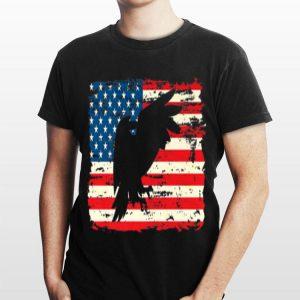 Bald Eagle Usa Flag 4th Of July shirt