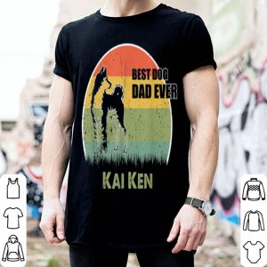 Best Dog Dad Ever Kai Ken Father Day 2019 shirt