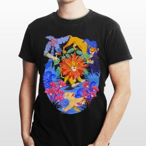 Disney Lion King Simba Can't Wait To Be King Color Pop shirt