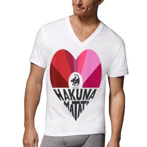 Disney Lion King Simba Hakuna Matata Heart Graphic shirt