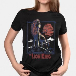 Disney Lion King Simba on Pride Rock Sketch shirt