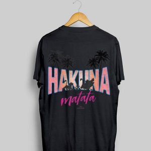 Disney Lion King Tropical Hakuna Matata Group shirt