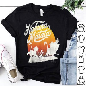 Disney The Lion King Hakuna Matata Sunset March shirt
