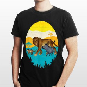 Disney The Lion King Simba and Friends Live Action shirt