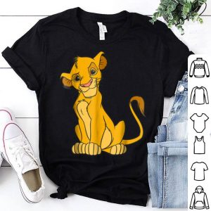 Disney The Lion King Young Simba Sitting Up shirt