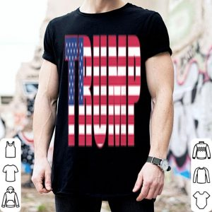 Donald Trump American Flag Patriotic Fourth of July USA shirt