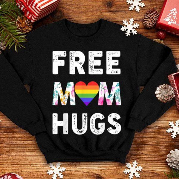 Free Mom Hugs Pride Lgbt Floral shirt