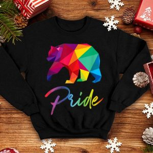 Gay Bear Pride Bears Lgbt Rainbow Flag Grizzly shirt