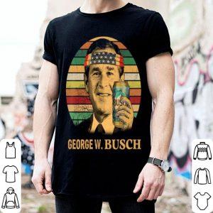 Geogre W. Busch beer Vintage shirt