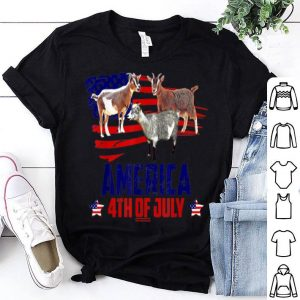 Goat Patriotic American 4th Of July shirt