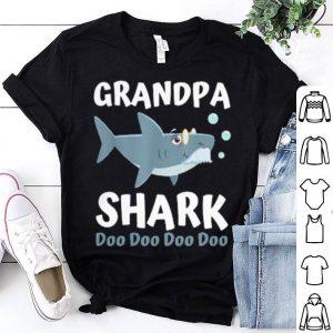 Grandpa shark doo doo doo doo shirt