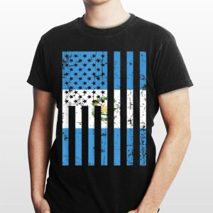 Guatemala American Flag For New Us Citizen shirt