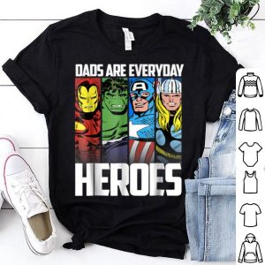 Marvel Avengers Father's Day Everyday Heroes shirt