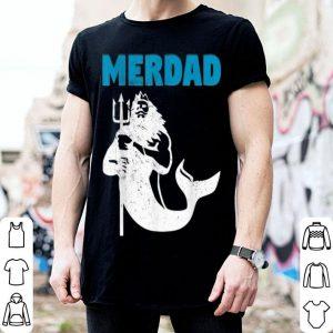 Merdad Mermaid Fathers Day aquaman shirt