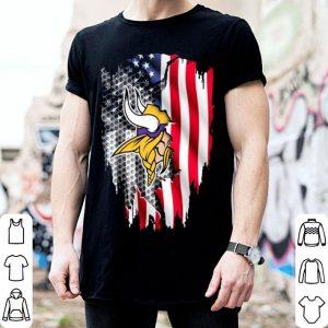 Minnesota Vikings American flag shirt